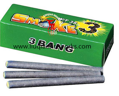 Color Smoke Match Cracker 3 Bangs