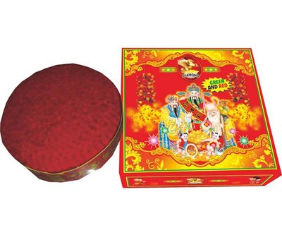 Chinese Red Firecrackers Fireworks