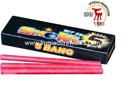 Color Smoke Match Cracker 5 Bangs